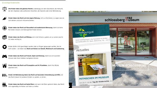 Zehn wichtige Kinderrechte - von Beteiligung.st und dem Graz Museum für die Kinderrechte-Tour - ob digital oder doch irgendwann einmal wieder analog - zusammengestellt.