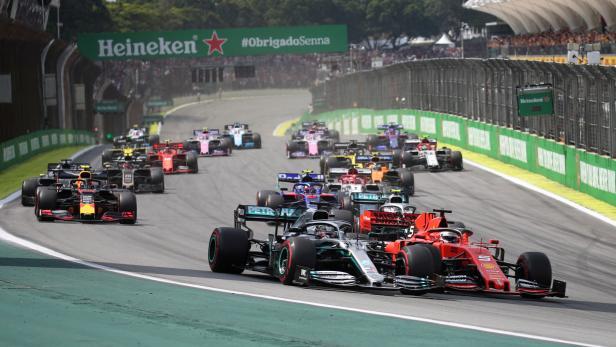FILE PHOTO: Formula One F1 - Brazilian Grand Prix