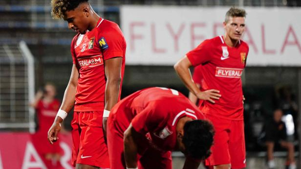 Fu§ball, FC Flyeralarm Admira - St.Poelten
