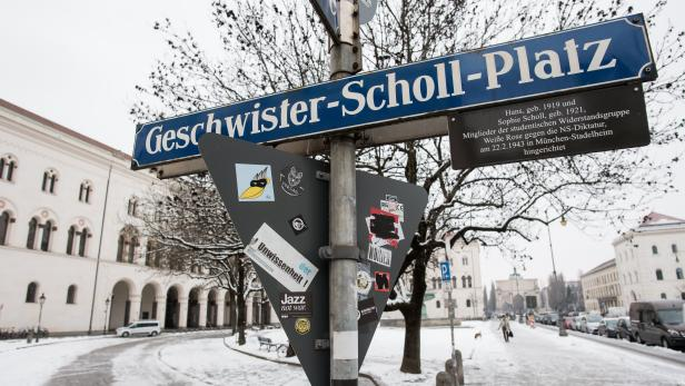 75th anniversary of the death of the Scholl brothers and sisters