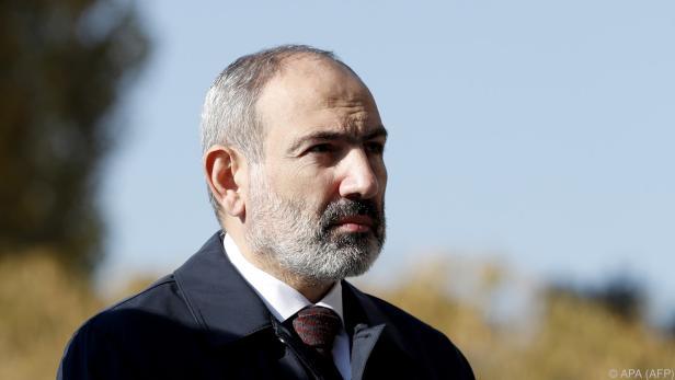 Armeniens Regierungschef Nikol Paschinjan unter Druck