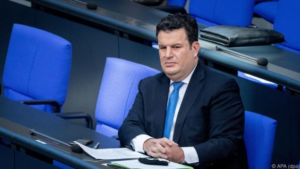 Deutscher Arbeitsminister Hubertus Heil
