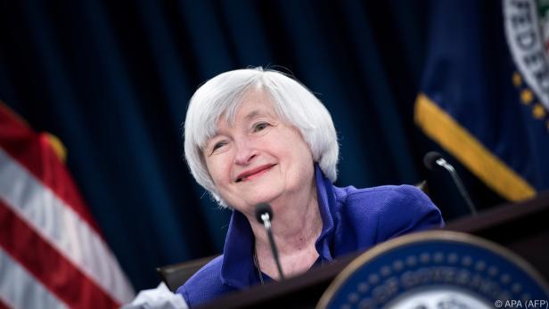 Yellen stand von 2014 bis 2018 an der Spitze der Federal Reserve