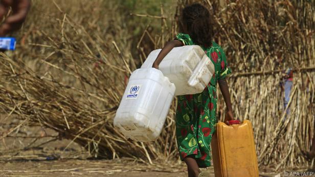 Das UNHCR befürchtet Hunger und Mangelernährung