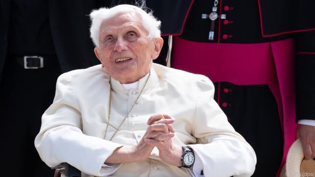 Der emeritierte Papst Benedikt XVI.