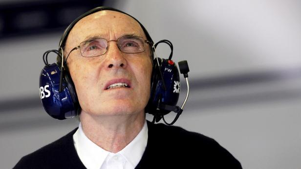 Sir Frank Williams to leave Williams Formula One team