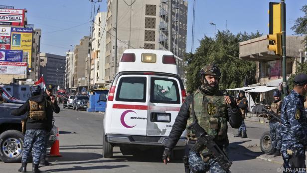 Doppelanschlag auf Marktplatz in Bagdad