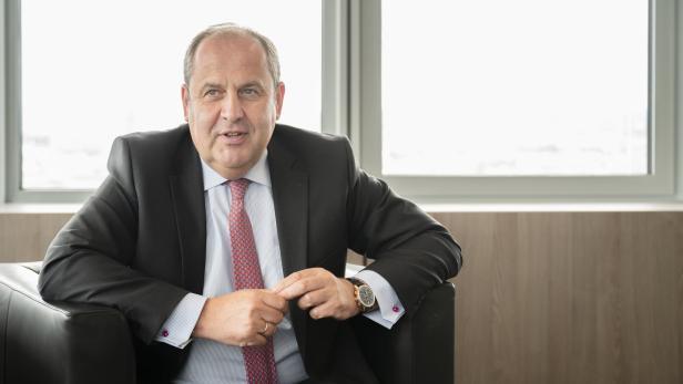 Leipnik Lundenburger Chef Josef Pröll