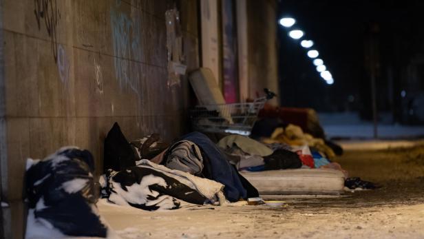 Sex mit einem obdachlosen