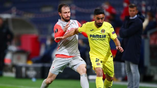 Europa League - Round of 32 First Leg - FC Salzburg v Villarreal