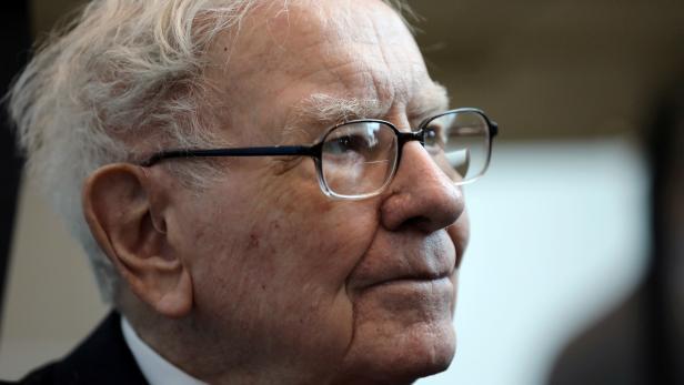 FILE PHOTO: Berkshire Hathaway Chairman Warren Buffett seen at the annual Berkshire shareholder shopping day in Omaha
