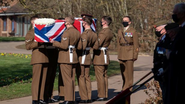 Funeral of Captain Sir Tom Moore