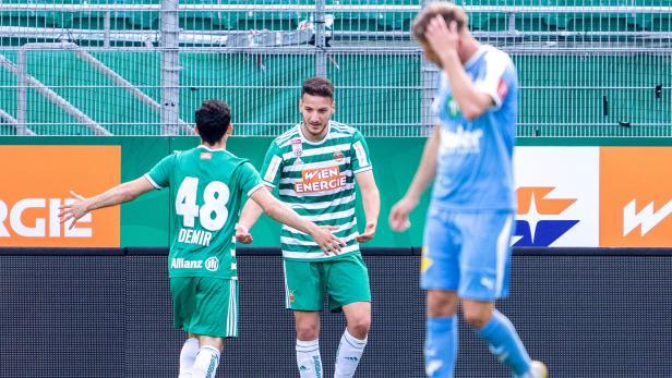 FUSSBALL: TIPICO BUNDESLIGA / MEISTERGRUPPE: SK RAPID WIEN - WSG SWAROVSKI TIROL