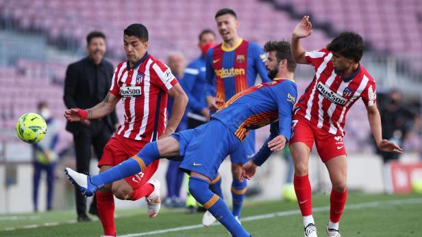 La Liga Santander - FC Barcelona v Atletico Madrid