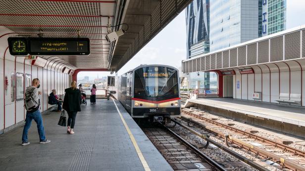 Kaisermühlen wird im Jahr 2022 renoviert, die Station Alte Donau ab 17. Mai