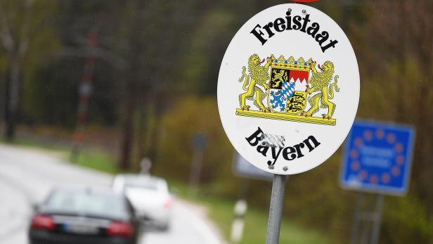 Grenzverkehr zwischen Bayern und Österreich