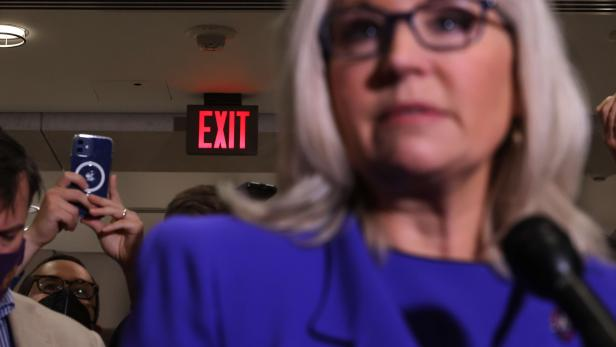 US-HOUSE-REPUBLICANS-VOTE-ON-WHETHER-TO-REMOVE-LIZ-CHENEY-FROM-L
