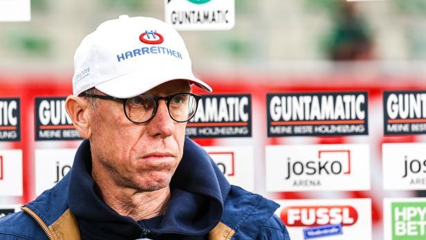 FUSSBALL: TIPICO BUNDESLIGA / QUALIFIKATIONSGRUPPE: SV GUNTAMATIC RIED - FK AUSTRIA WIEN