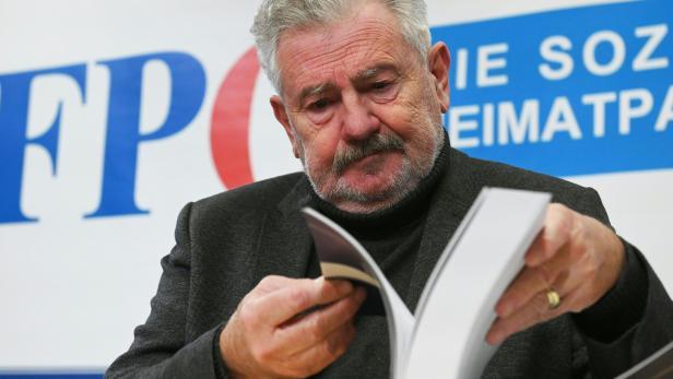 """PK FPÖ """"VERÖFFENTLICHUNG HISTORIKERBERICHT: MÖLZER"""