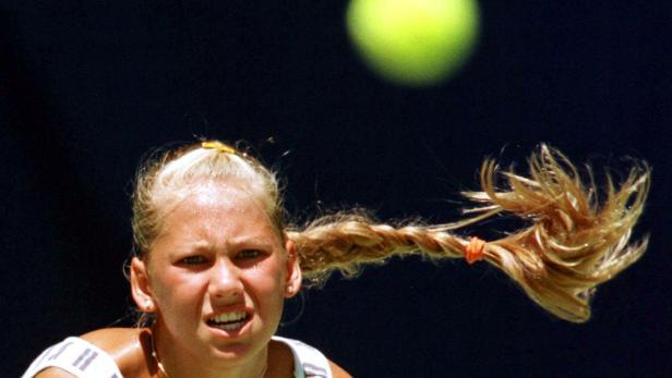 FILE PHOTO: Born on June 7, 1981: Anna Kournikova, Russian tennis player