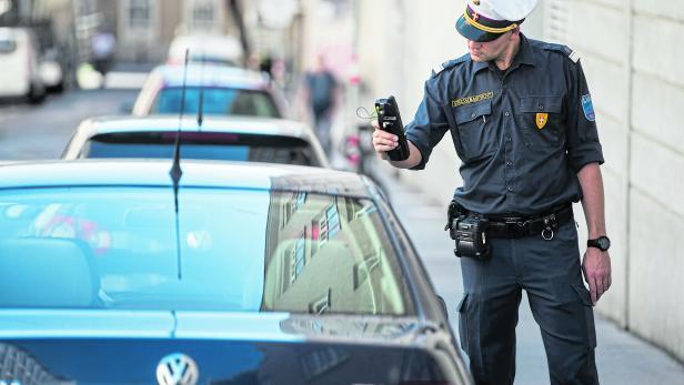 Parkraumüberwachung in Wien