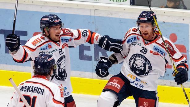 EISHOCKEY: ERSTE BANK LIGA: VSV - KHL MEDVESCAK ZAGREB