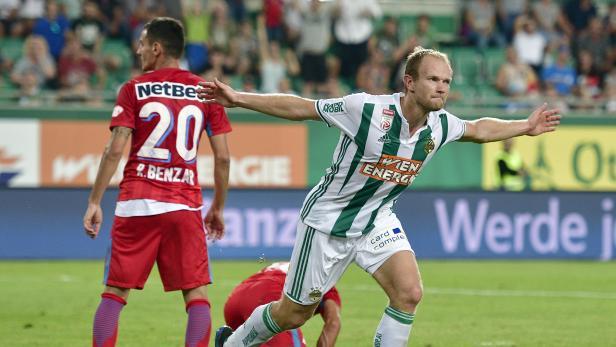 FUSSBALL UEFA EUROPA LEAGUE: SK RAPID WIEN - FCSB BUKAREST