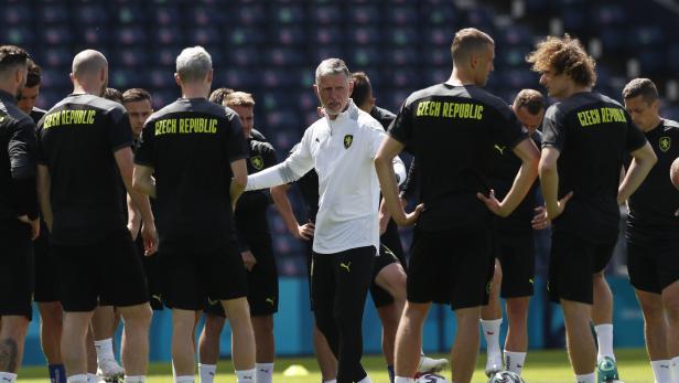 Euro 2020 - Czech Republic Training
