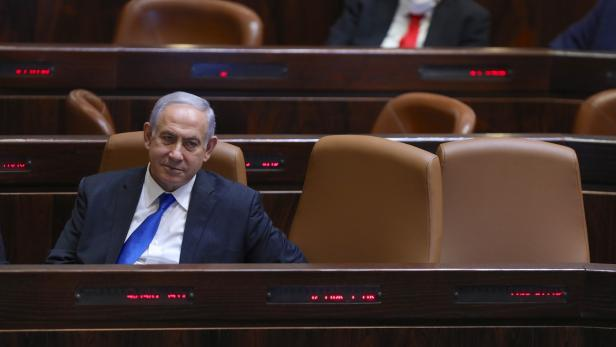Israeli parliament voting for governmental change
