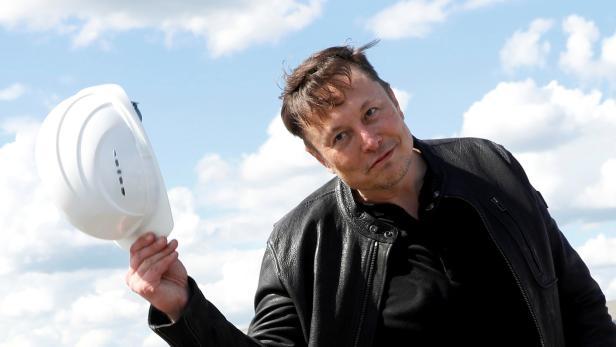 Tesla's gigafactory in Gruenheide