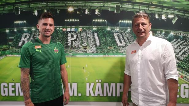 Zoran Barisic und Christoph Knasmüllner zur Vertragsverlängerung bis Sommer 2023