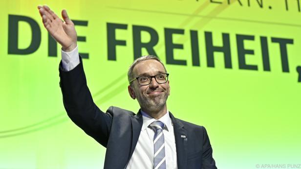 Herbert Kickl ist seit Samstag neuer FPÖ-Chef.
