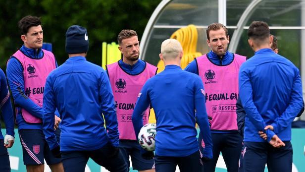 UEFA EURO 2020 England training