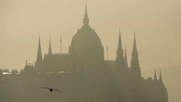 Fog in Budapest