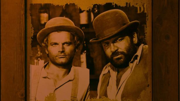Exhibition on Bud Spencer in Naples