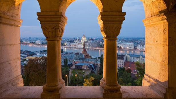 Budapest Ausblick