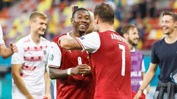 Ukraine vs. Oesterreich -  UEFA-Europameisterschaft 2020 Gruppe C