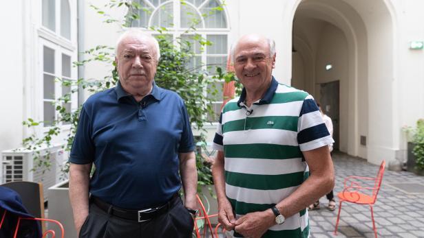 EM-Stammtisch mit Michael Häupl und Erwin Pröll