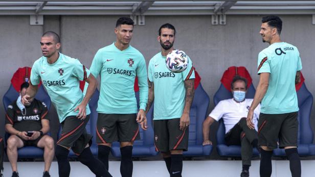 UEFA Euro 2020 Portugal training