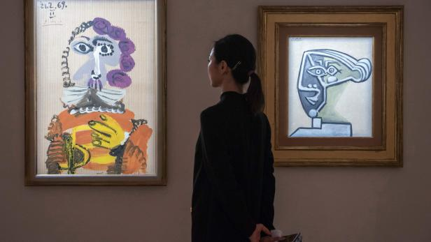 HONG KONG-ART-CHRISTIE'S-AUCTION-PICASSO