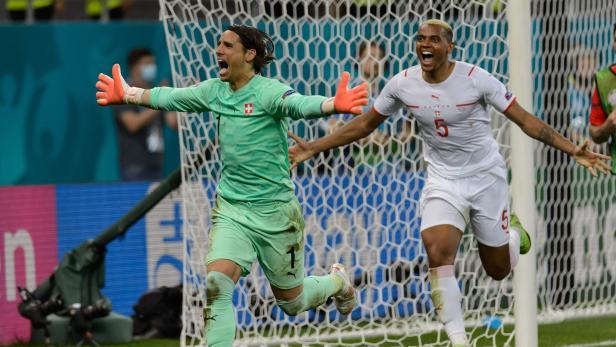 Frankreich vs. Schweiz - UEFA-Europameisterschaft 2020 - Achtelfinale