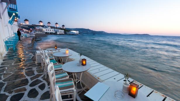 Romantisches Mykonos