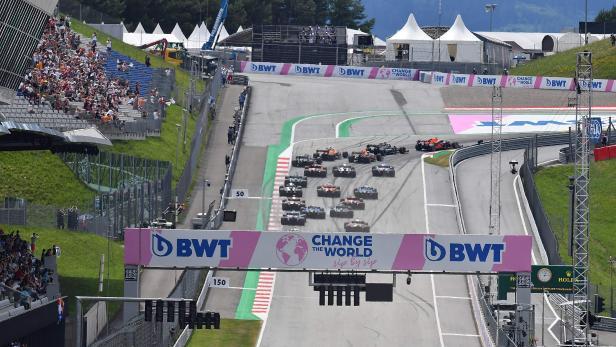 Formula 1 BWT Grosser Preis Der Steiermark 2021 - Rennen