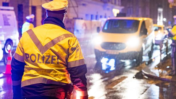Verkehrskontrolle der Polizei