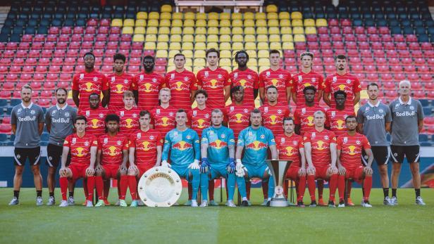 FUSSBALL: ADMIRAL BUNDESLIGA/ FOTOTERMIN FC RED BULL SALZBURG