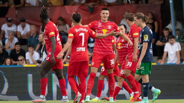 FUSSBALL: UNIQA ÖFB CUP / WSC HERTHA WELS - RED BULL SALZBURG