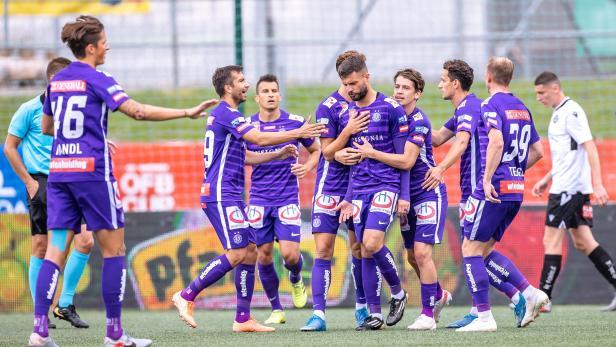 FUSSBALL: UNIQA ÖFB CUP / SV SPITTAL/DRAU - FK AUSTRIA WIEN