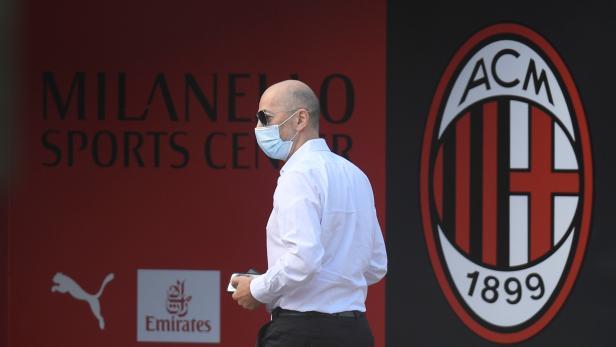 AC Milan Training
