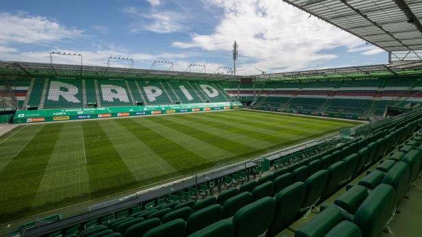 Allianz Arenea, Hanappi Stadion, Rapid