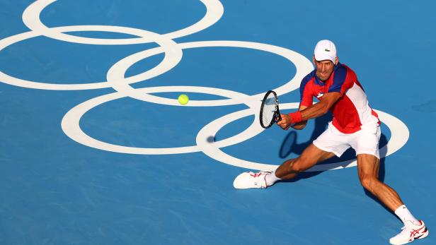 Tennis - Men's Singles - Round 1
